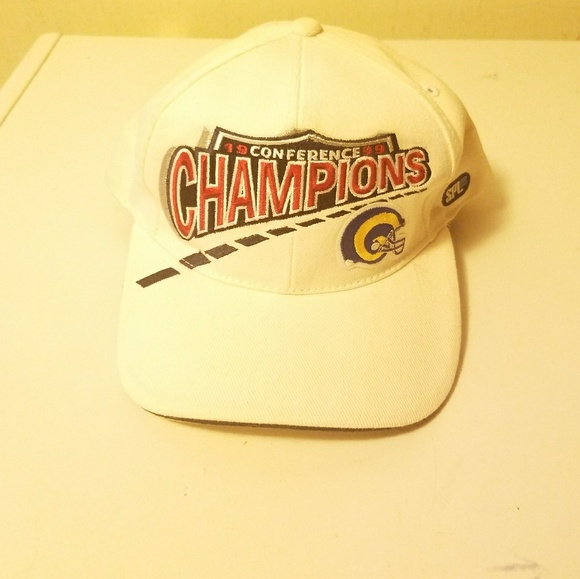 timeless design e5c74 57d74 Rams Championship hat. M 5a635e6a3800c50bb12a838b